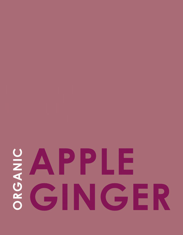 Apple Ginger Label